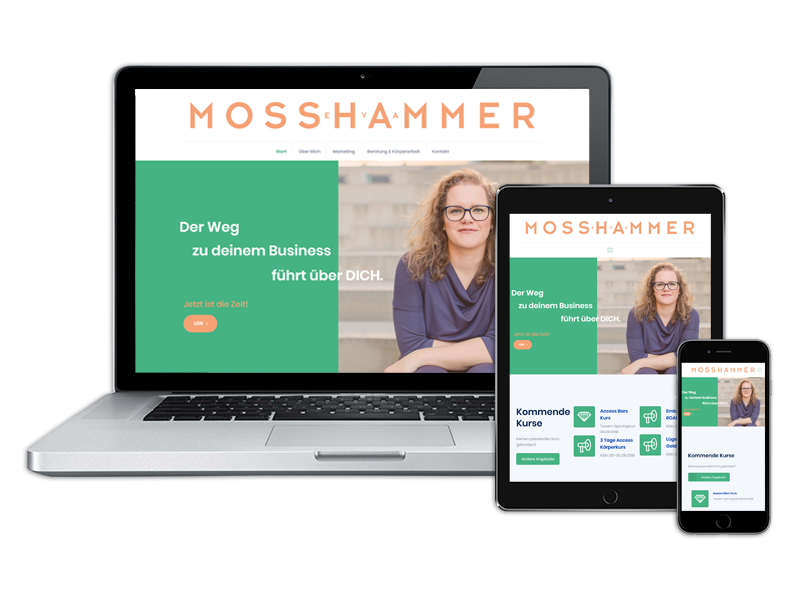 Website EvaMosshammer